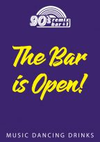 The Bar is Open!